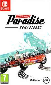 Burnout Paradise Remastered Switch Edition £25.50 delivered @ eBay The Game Collection