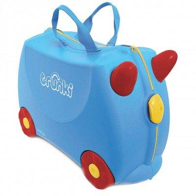 Trunki Jack Blue children's s travel suitcase £11.99 + £5.99 delivery at JTF