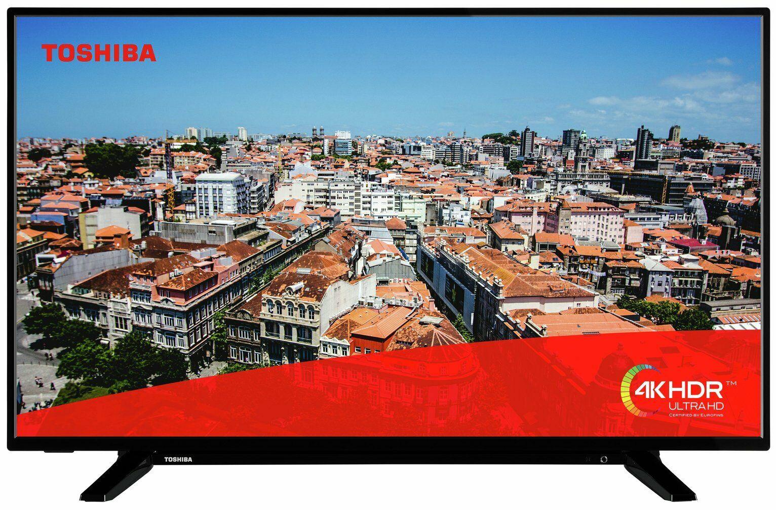Toshiba 43U2963DB 43 Inch 4K Ultra HD Smart WiFi LED TV - Black £279 in Asda Bournemouth