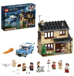 LEGO 75968 Harry Potter 4 Privet Drive House Set with Ford Anglia, Dobby Figure and Dursley Family £52.99 @ Amazon