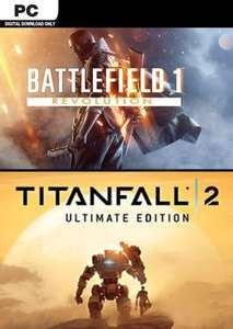 Battlefield 1 revolution and titanfall 2 ultimate edition bundle pc £6.99 at CDKeys
