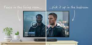 Sky Q Multiscreen £6 extra per month for 18 months @ Sky