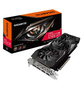 Gigabyte Radeon RX 5700 XT 8GB GAMING Graphics Card £338.20 @ cclcomputers eBay