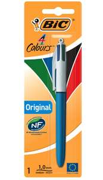 Bic 4 Colours Original Ballpoint Pen - online and in store £1 Wilko
