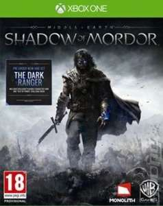 Middle Earth: Shadow of Mordor, Xbox One, £3.50 with code delivered at Music Magpie