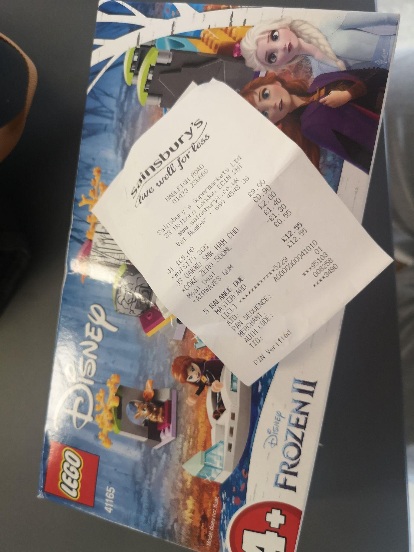 Lego 41165 Disney Frozen II £9 at Sainsbury's Ipswich
