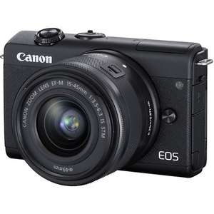 Canon EOS M200 (Open Never Used) + 15-45mm Lens 4k video, 24mp £339.15 @ cameracentreuk eBay