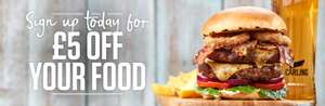 Sizzling pubs £5 off newsletter signup plus EOTHO plus kids eat for £1 before 7pm