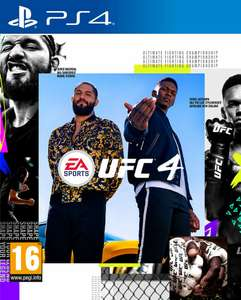 UFC 4 PS4 Pre-Order - £42.46 delivered using code @ The Game Collection Outlet / eBay