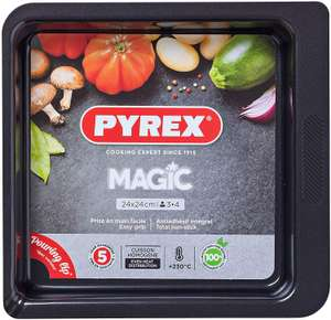 Pyrex Magic Square Roaster Tin (24cm) - £6 + free Click and Collect @ Argos