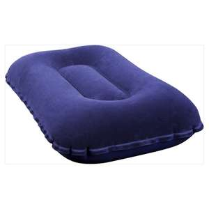 Inflatable Pillow for 75p / Intex Single Downy Airbed & Builtin Foot Pump for £8 @ Tesco (more in op)