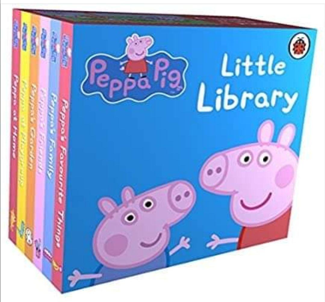 Peppa Pig: Little Library Board book - £2.50 Prime / +£2.99 non Prime @ Amazon