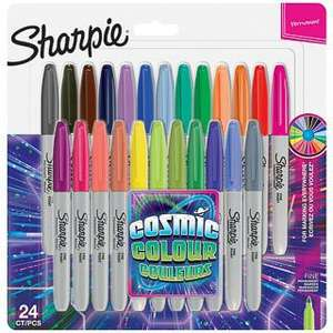 Sharpie Cosmic Colour Fine Point Permanent Markers 24pk - £9.99 @ B&M Small Heath (national)
