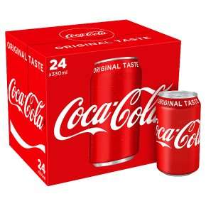 24x 330ml Coke £9 @ Waitrose & Partners (+-38p per can)