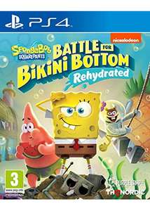 Spongebob SquarePants: Battle for Bikini Bottom - Rehydrated (PS4/Xbox One) - £17.85 // Nintendo Switch - £18.85 Delivered @ Base