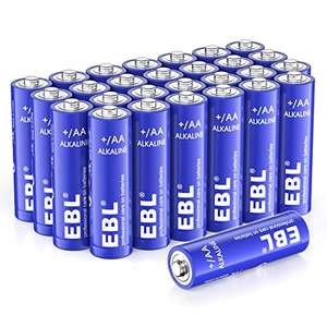 EBL AA Batteries 1.5V AA Alkaline Battery. Pack of 28 £6.79 prime / £11.28 Non prime Sold by EBL Official and Fulfilled by Amazon