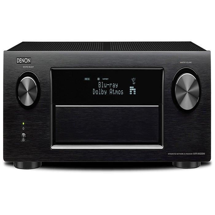 Refurbished Denon AVRX4200W (Black) Atmos AV Receiver £149 Richer Sounds