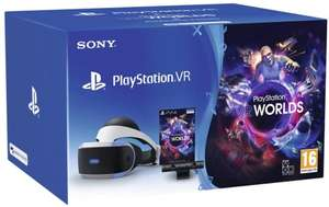 PlayStation VR PSVR V2 Starter Pack + VR Worlds - £148.88 [Like New, Damaged Packaging] (£144.50 fee free) @ Amazon Warehouse France