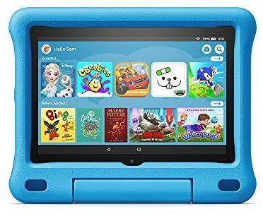"All-new Fire HD 8 Kids Edition tablet | 8"" HD display, 32 GB, Blue /pink/purple Kid-Proof Case £104.99 @ Amazzon"