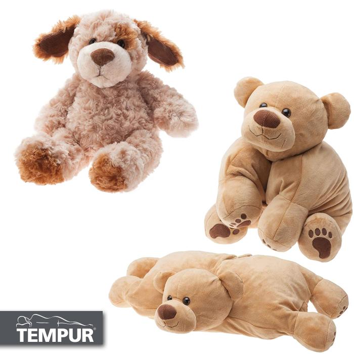 "Tempur Plush Dog 14"" - £12.50 / Tempur Plush Pillow Bear 24"" x 21"" - £19.50 + Free Delivery @ Tempur"