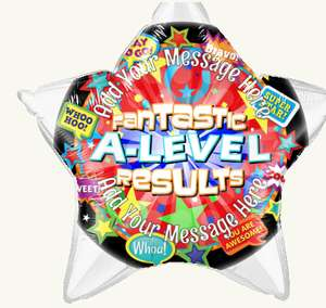 A level Congratulations Balloons £5 off (£21.50 delivered) @ Balloon Monkey