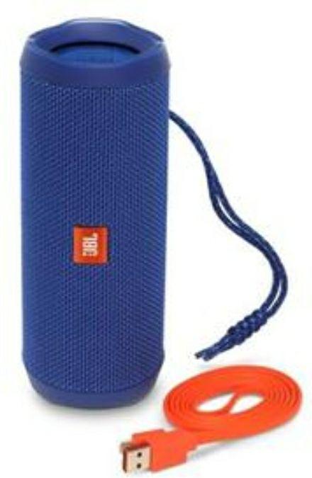 JBL Flip 4 Waterproof Portable Bluetooth Speaker - Blue £59.98 BT Shop