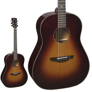 Faith Mars Drop Dreadnought Acoustic Guitar - Model FRSBG / All Solid Construction / Grover Tuners £599 Delivered @ GuitarGuitar