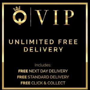 QUIZ QVIP Pass - 1 year Unlimited FREE Delivery (was £12.99) Now £7.99 @ QUIZ