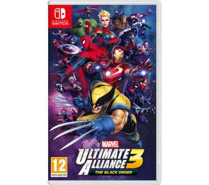 NINTENDO SWITCH Marvel Ultimate Alliance 3: The Black Order - £32.99 with code @ Currys PC World