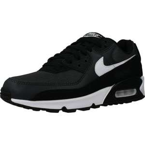 Nike AIR MAX 90 Black uk 9 and 9.5 £30.98 Delivered @ SPARTOO