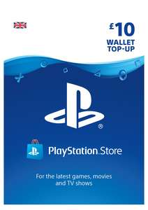 Playstation Voucher Top-Ups - £5 / £4.69 - £10 / £8.69 - £20 / £17.69 - £25 / £23.85 @ SimplyGames
