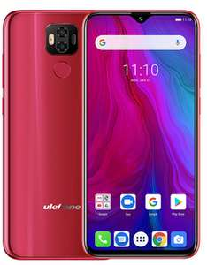 """Ulefone Power 6 Android 9.0 Helio P35 Octa-core 6350mah 6.3"""" 4GB 64GB 16MP face ID NFC 4G LTE £94.62 @ Ulefone Official AliExpress"""