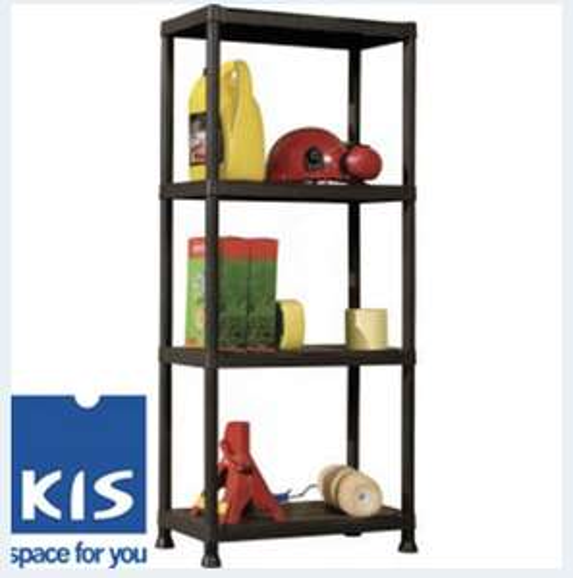 Kis 4 Tier Plus Shelf - £9.99 Instore @ Home Bargains