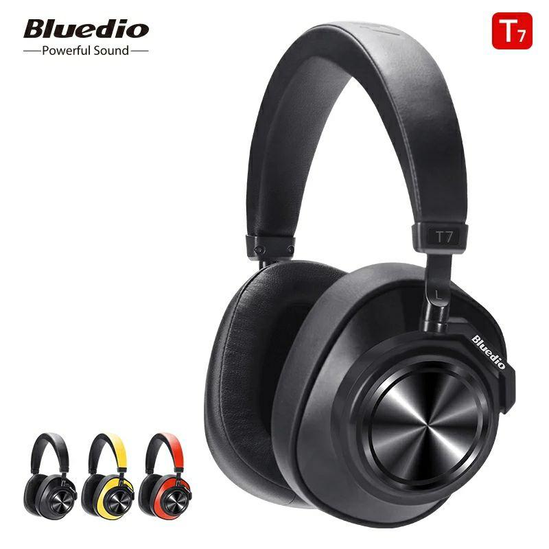 Bluedio T7 Bluetooth Headphones ANC Wireless Headset bluetooth 5.0 HIFI sound with 57mm @ AliExpress Bluedio official store