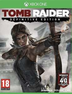 Tomb Raider: Definitive Edition (Xbox one) £3.93 with gold @ Microsoft store