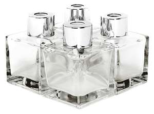 Set of 4 x 50ml Glass Reed Oil Diffuser Bottles £6.94 including delivery at Roov