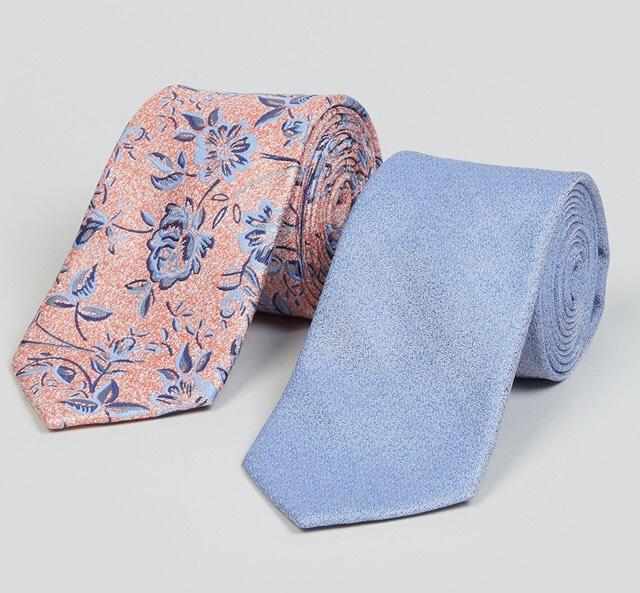 Taylor & Wright 2 Pack Floral Ties - £1.50 at Matalan + free Click & Collect