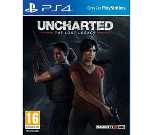 Uncharted: The Lost Legacy / Uncharted Collection / Uncharted 4 (PS4) - £10.99 each @ Currys PC World