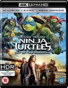 Teenage Mutant Ninja Turtles: Out of the Shadows 4K Ultra HD UHD - £5.59 delivered @ zoom