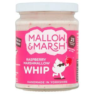 Mallow & Marsh Raspberry Marshmallow Whip Spread 138g 50p instore at Sainsbury's, Watford