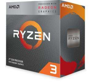 AMD Ryzen 3 3200G VEGA Graphics AM4 CPU with Wraith Stealth Cooler, £75.99 using code at Currys PC World