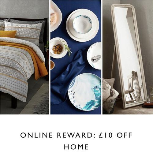 John Lewis & Partners - £10 OFF HOME & GARDEN NO minimum SPEND (Account Specific)