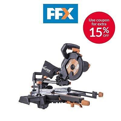 Evolution 230v 210mm Multi-Material Sliding Mitre Saw R210SMS-300+ - £135.15 delivered using code @ FFX / eBay