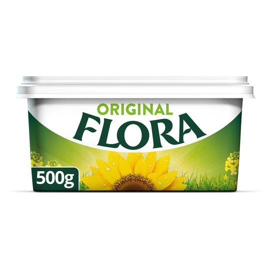 Flora original, 500g - 69p & country life spreadable, 500g - £1.99 instore @ Home Bargains, Southampton