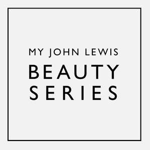 MY John Lewis Beauty Series - Tickets cost £10 and £10 voucher will be sent to redeem against products