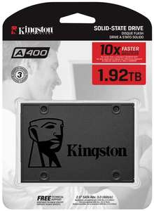 Kingston A400 SSD SA400S37/1920G - Internal Solid State Drive 2.5 Inch SATA - 1.92TB for £158.70 delivered @ Amazon