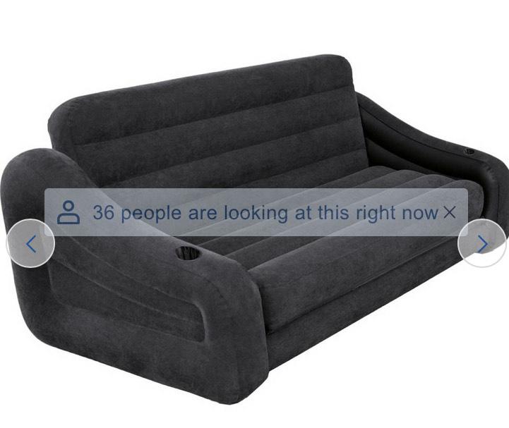 Intex inflatable sofa - £36 @ Tesco (Shepton Mallet)