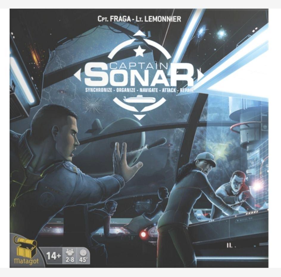 Captain Sonar Board Game £26.99 Delivered @ 365games