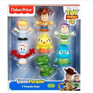Fisher-Price Toy Story 4 Little People 7 Figure Pack £12.99 delivered @ Bargain Max