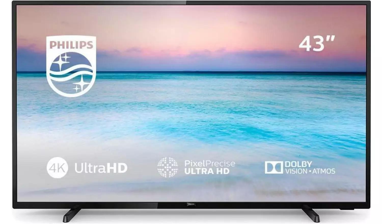 Philips 43 Inch 43PUS6504 Smart 4K HDR LED TV £254 Argos